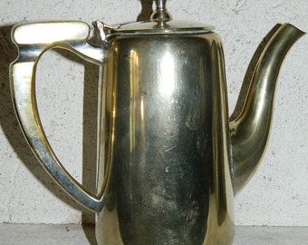 Silver-plated, vintage from France .theapot coffee.