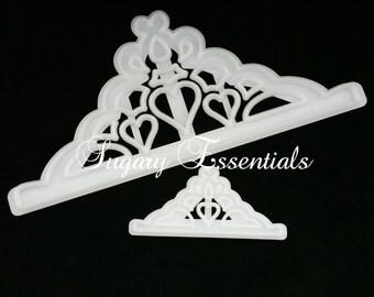 2 Pcs.Tiara Cutter Set