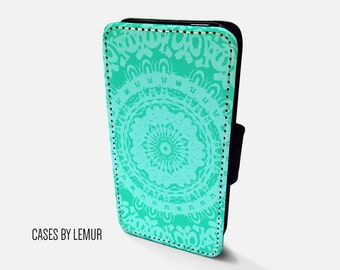 MANDALA Iphone 6s Wallet Case Leather Iphone 6s Case Leather Iphone 6s Flip Case Iphone 6s Leather Wallet Case Iphone 6s Leather Sleeve