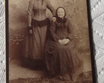 Vintage Photo of Two Women