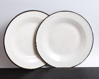 Metal Dinner Plate Etsy