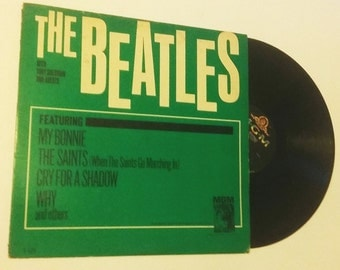 Original The Beatles Vinyl LP Record Featuring My Bonnie