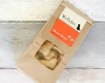 Hand Baked Dog Biscuit - Chicken with Fresh Thyme
