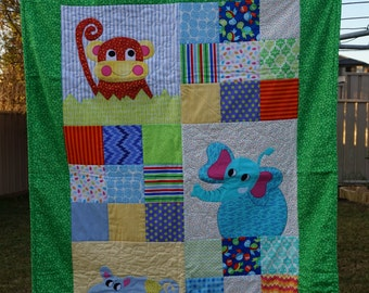 Jungle Theme Quilt