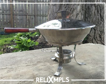 1969 Cordova Stainless Steel Chafing Dish Set