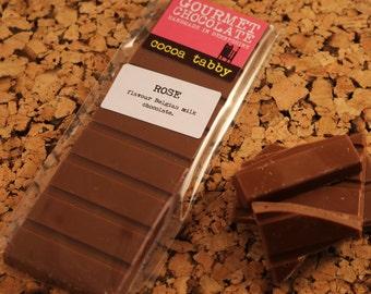 Rose - Milk Chocolate Bar