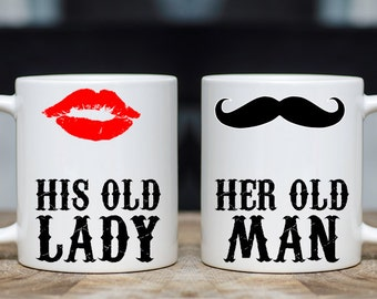 Her Old Man and His Old Lady Mug Set
