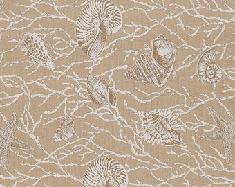 Harbour Isalnd Sand, Lacefield Fabrics, Fabric By The Yard