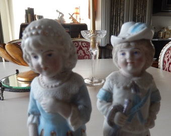 GERMANY BOY and GIRL Figurines