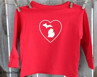 Heart Michigan Shirt