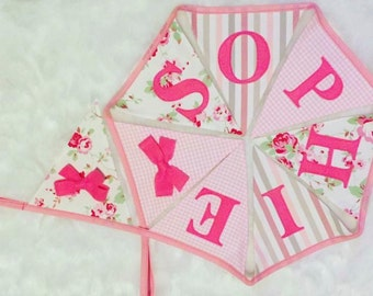 Pink Candy Bunting