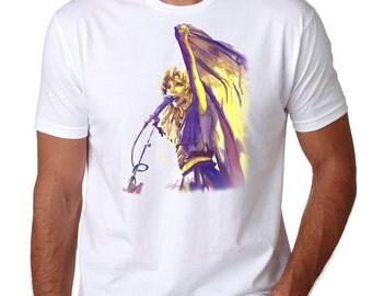 Stevie Nicks soft cotton t-shirt, pop art clothing, Fleetwood Mac tee, gold dust woman, classic rock clothing, music art, original shirt