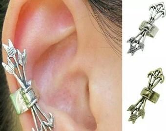 60% OFF Silver Arrow Ear Cuff
