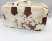 RESERVE FOR JENTRYMB: Vintage Cow Hide Purse