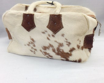Vintage Cow Hide Purse