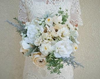 Wedding Bouquet, Silk Flower Bouquet, Wedding Flowers, Bridesmaid Bouquets, Bouquet, Flower Bouquet, Silk Flowers, Bridal Bouquet