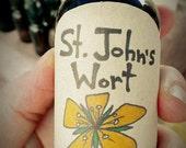 SALE!! St Johns Wort tincture -- 1oz ORGANIC