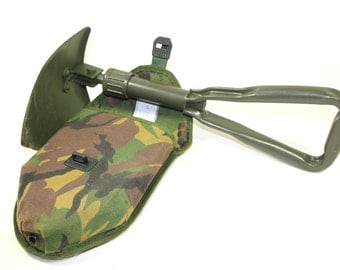Original Dutch military camp shovel