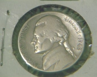 1942-S WarTime Jefferson Nickle-Silver