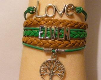 Elven bracelet, elven jewelry, elf bracelet, elf jewelry, woodland creature bracelet, woodland creature jewelry, fashion bracelet