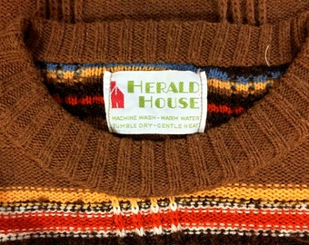 Herald House Vintage Knit Sweater