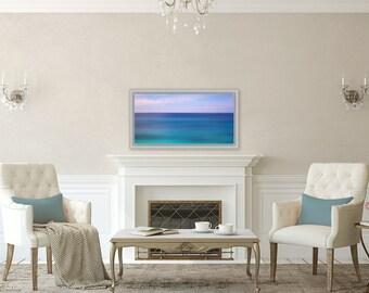 Tropics ~ Bermuda, Abstract, Beach, Coastal Decor, Nautical, Beach Photography, Joules, Wall Art, Interior Decor, Home Decor, Art
