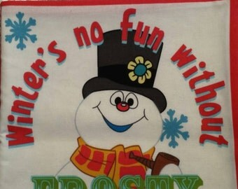 Winter is no fun without Frosty