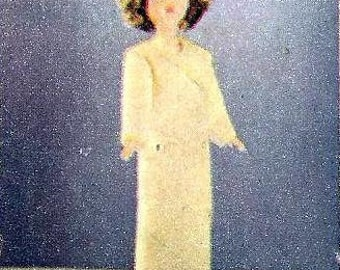 1966 Dressing Gown Sewing Pattern for Barbie