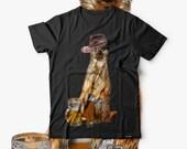 Meerkat Cute Beer Funny Animal Men Black Tshirt S5XL NEW  Wellcoda