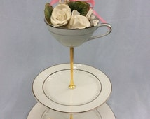 Popular Items For Silver Cake Stand On Etsy