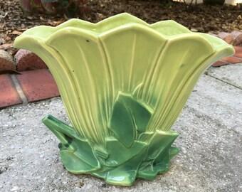 McCoy Planter  Fan Shape