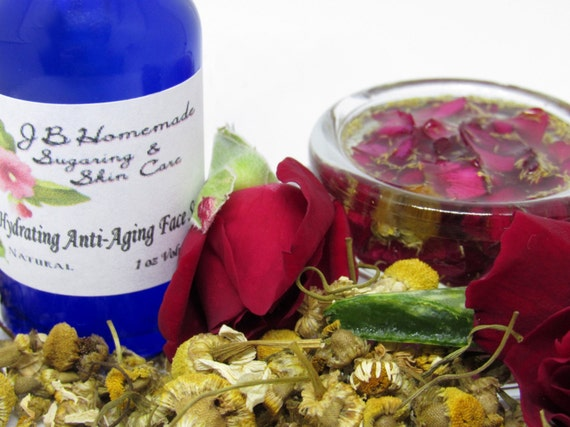 Rose & Chamomile Ultra Hydrating Anti-Aging Face Serum