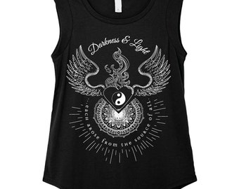 Thoth Emerald Tablets | Darkness & Light Sleeveless