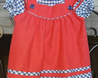 Vintage Dress Size 4t