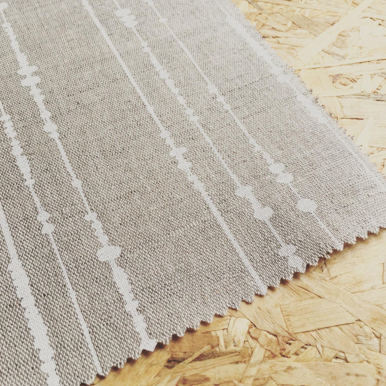 Lin Lin tissu-moderne imprimé en lin