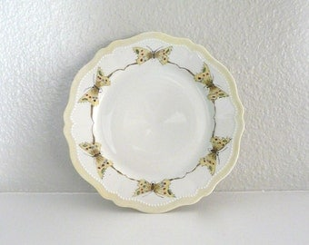 Vintage Oscar and Edgar Gutherz Butterfly Plate
