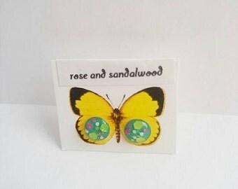 Small Space Stud Earrings