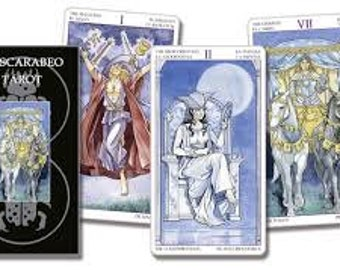 Lo Scarabeo Tarot-78 cards-ENG-DE-IT,Tarocchi,Divination,Oracle cards,Classic Tarot,Marseille,Crowley,Rider Waite.