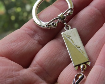 Sterling Silver Key Chain
