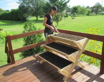 Premium Quality Cascading Raised Bed