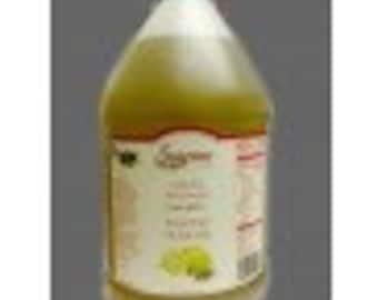 Lemon Infused Extra Virgin Olive Oil Bulk 1 Gallon / 3.8 Liter / 128oz -Food Service Size