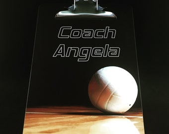 Volleyball, Volleyball coach gifts, Custom Coach clipboard, Volleyball gifts, Volleyball coach, Coaches gift, Volley ball, Volleyball team