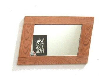Designer Mirror (Oak, Cherry, Walnut, or Pine)