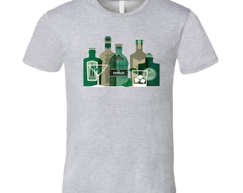 It's A Gin World, Alcohol, Spirit, Juniper Berries  T Shirt
