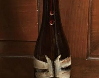 Last Of Us Firefly Symbol Inspired Wine Bottle Incense Burner
