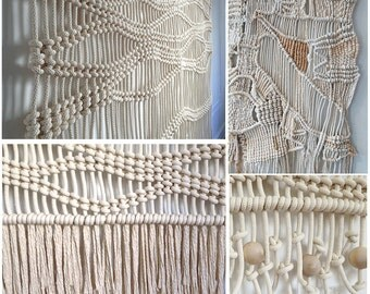 Custom Macrame Made to Order Mix & Match