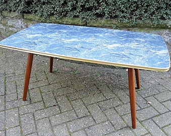 50s Coffee Table / Side Table with Formica Tabletop