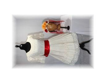 Day of the Dead Coatume / Día de los Muertos / Mexican-Latino Style Costume-Medium/Large (C43)