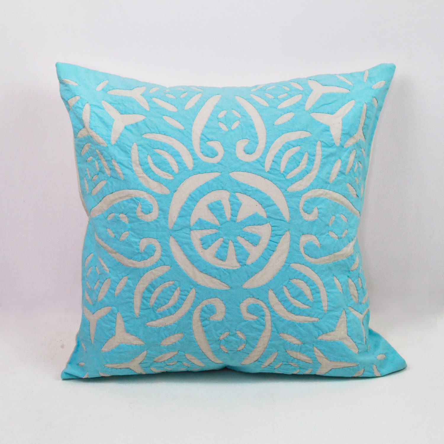 blue and white pillows handmade pillows decorative by urbanhutch. Black Bedroom Furniture Sets. Home Design Ideas