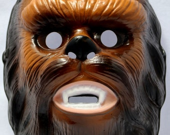 Chewbacca Halloween Mask Starwars Scifi Lucas Films wookie Star Wars Rubies Y108